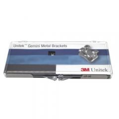 3M Unitek Gemini Metal Brackets MBT 119-142 3 Hook 5-5